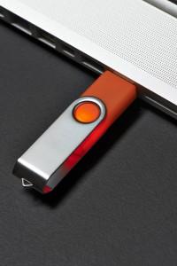 USB Drive in a USB Port