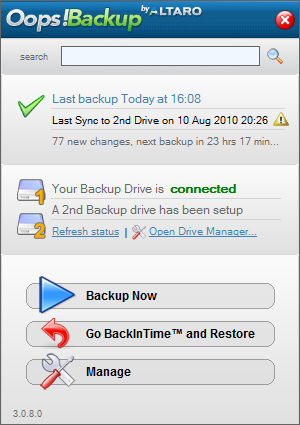Altaro Quick Launch Backup Software